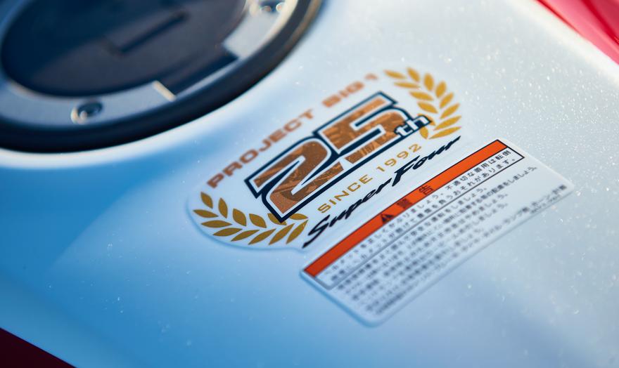 logo 25 năm CB400SF